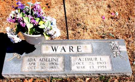 WARE, ARTHUR  L. - Carroll County, Arkansas | ARTHUR  L. WARE - Arkansas Gravestone Photos