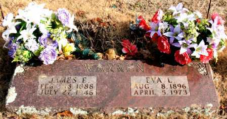 WARREN, EVA  L. - Carroll County, Arkansas | EVA  L. WARREN - Arkansas Gravestone Photos