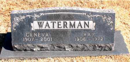 WATERMAN, GENEVA - Carroll County, Arkansas | GENEVA WATERMAN - Arkansas Gravestone Photos