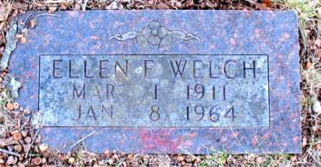 WELCH, ELLEN E. - Carroll County, Arkansas | ELLEN E. WELCH - Arkansas Gravestone Photos