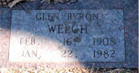 WELCH, GLEN BYRON - Carroll County, Arkansas | GLEN BYRON WELCH - Arkansas Gravestone Photos