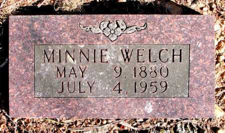 WELCH, MINNIE - Carroll County, Arkansas | MINNIE WELCH - Arkansas Gravestone Photos