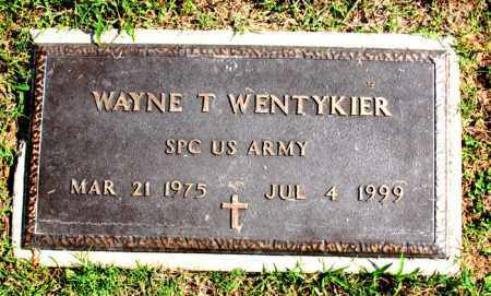 WENTYKIER  (VETERAN), WAYNE T - Carroll County, Arkansas | WAYNE T WENTYKIER  (VETERAN) - Arkansas Gravestone Photos