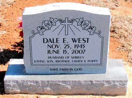 WEST, DALE E. - Carroll County, Arkansas | DALE E. WEST - Arkansas Gravestone Photos