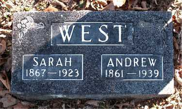 WEST, SARAH - Carroll County, Arkansas | SARAH WEST - Arkansas Gravestone Photos