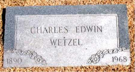 WETZEL, CHARLES  EDWIN - Carroll County, Arkansas | CHARLES  EDWIN WETZEL - Arkansas Gravestone Photos