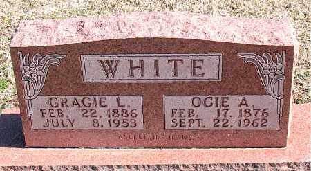 WHITE, OCIE A - Carroll County, Arkansas | OCIE A WHITE - Arkansas Gravestone Photos