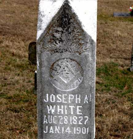 WHITE, JOSEPH A. - Carroll County, Arkansas | JOSEPH A. WHITE - Arkansas Gravestone Photos