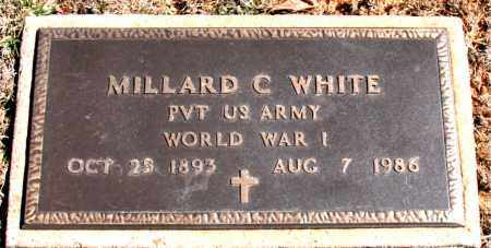 WHITE  (VETERAN WWI), MILLARD C - Carroll County, Arkansas | MILLARD C WHITE  (VETERAN WWI) - Arkansas Gravestone Photos