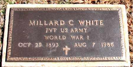 WHITE  (VETERAN WWI), MILLARD C - Carroll County, Arkansas | MILLARD C WHITE  (VETERAN WWI) - Arkansas Gravestone Photos