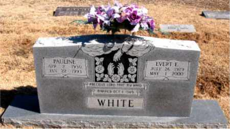 WHITE, PAULINE - Carroll County, Arkansas | PAULINE WHITE - Arkansas Gravestone Photos