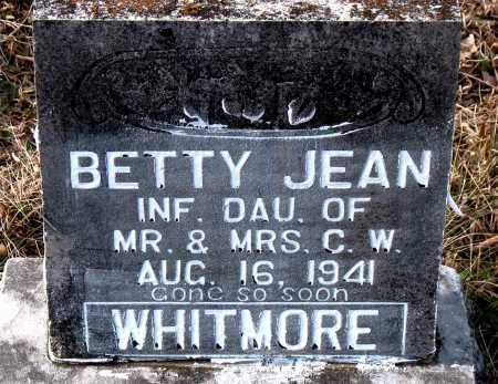 WHITMORE, BETTY JEAN - Carroll County, Arkansas | BETTY JEAN WHITMORE - Arkansas Gravestone Photos