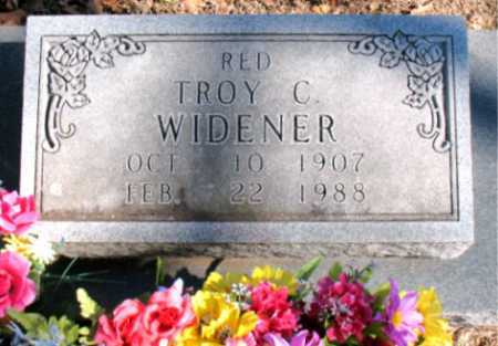 WIDENER, TROY C. - Carroll County, Arkansas | TROY C. WIDENER - Arkansas Gravestone Photos