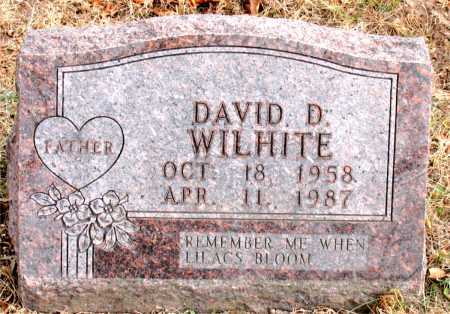 WILHITE, DAVID D. - Carroll County, Arkansas | DAVID D. WILHITE - Arkansas Gravestone Photos