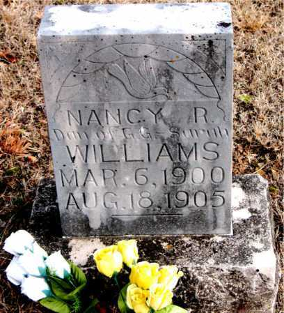 WILLIAMS, NANCY R. - Carroll County, Arkansas | NANCY R. WILLIAMS - Arkansas Gravestone Photos