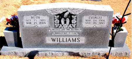 WILLIAMS, EVERETT - Carroll County, Arkansas | EVERETT WILLIAMS - Arkansas Gravestone Photos