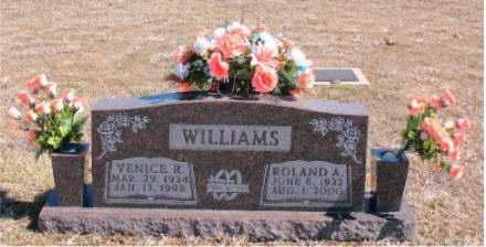 WILLIAMS, ROLAND A. - Carroll County, Arkansas | ROLAND A. WILLIAMS - Arkansas Gravestone Photos