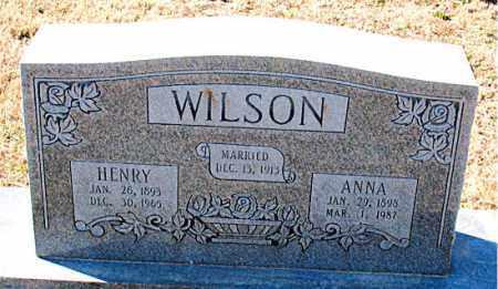 WILSON, HENRY - Carroll County, Arkansas | HENRY WILSON - Arkansas Gravestone Photos