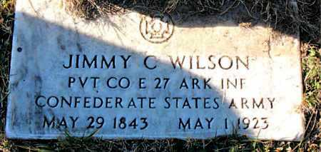 WILSON  (VETERAN CSA), JIMMY  C - Carroll County, Arkansas | JIMMY  C WILSON  (VETERAN CSA) - Arkansas Gravestone Photos