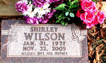 WILSON, SHIRLEY - Carroll County, Arkansas | SHIRLEY WILSON - Arkansas Gravestone Photos