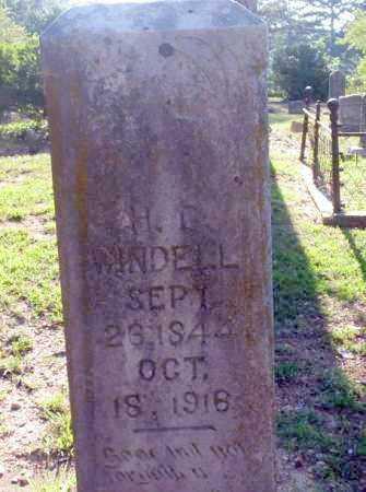 WINDELL, H.G - Carroll County, Arkansas | H.G WINDELL - Arkansas Gravestone Photos