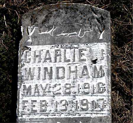 WINDHAM, CHARLIE - Carroll County, Arkansas | CHARLIE WINDHAM - Arkansas Gravestone Photos