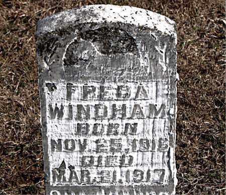 WINDHAM, FREDA - Carroll County, Arkansas | FREDA WINDHAM - Arkansas Gravestone Photos