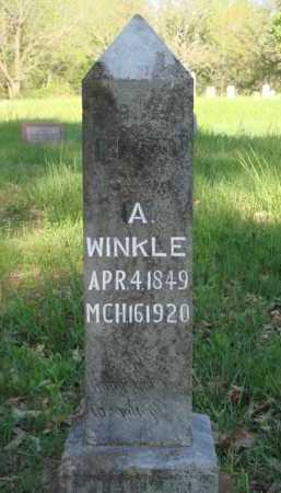 WINKLE, ABRAHAM - Carroll County, Arkansas | ABRAHAM WINKLE - Arkansas Gravestone Photos