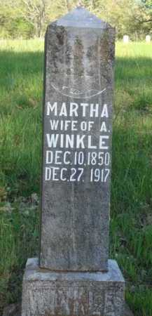 WINKLE, MARTHA - Carroll County, Arkansas | MARTHA WINKLE - Arkansas Gravestone Photos