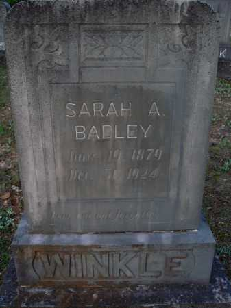 WINKLE, SARAH A. - Carroll County, Arkansas | SARAH A. WINKLE - Arkansas Gravestone Photos