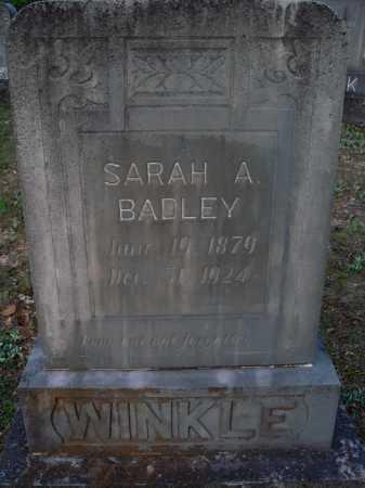 BADLEY WINKLE, SARAH A. - Carroll County, Arkansas | SARAH A. BADLEY WINKLE - Arkansas Gravestone Photos