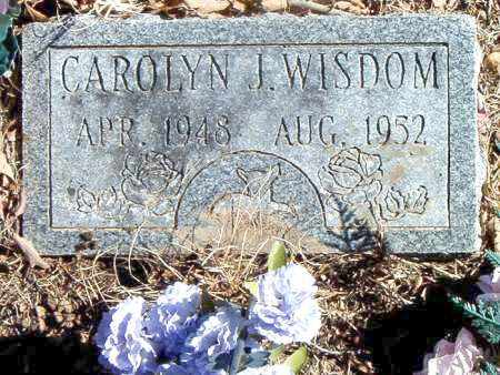 WISDOM, CAROLYN J. - Carroll County, Arkansas | CAROLYN J. WISDOM - Arkansas Gravestone Photos