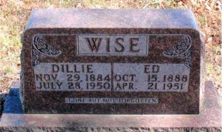WISE, ED - Carroll County, Arkansas | ED WISE - Arkansas Gravestone Photos