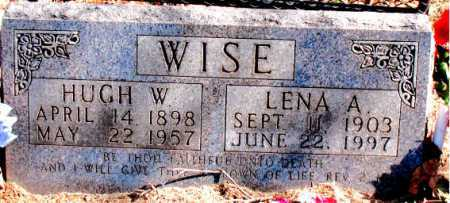 WISE, HUGH W. - Carroll County, Arkansas | HUGH W. WISE - Arkansas Gravestone Photos