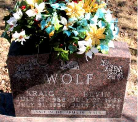 WOLF, KEVIN - Carroll County, Arkansas | KEVIN WOLF - Arkansas Gravestone Photos