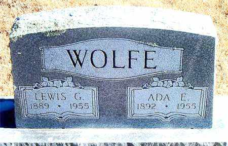 WOLFE, ADA E. - Carroll County, Arkansas | ADA E. WOLFE - Arkansas Gravestone Photos