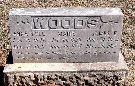 WOODS, JAMES E - Carroll County, Arkansas | JAMES E WOODS - Arkansas Gravestone Photos
