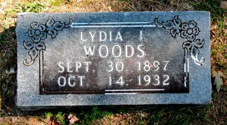 WOODS, LYDIA I - Carroll County, Arkansas | LYDIA I WOODS - Arkansas Gravestone Photos
