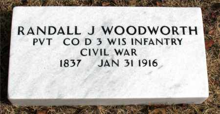 WOODWORTH  (VETERAN UNION), RANDALL  J. - Carroll County, Arkansas | RANDALL  J. WOODWORTH  (VETERAN UNION) - Arkansas Gravestone Photos