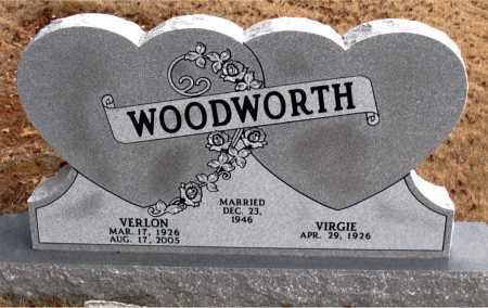 WOODWORTH, VERLON - Carroll County, Arkansas | VERLON WOODWORTH - Arkansas Gravestone Photos