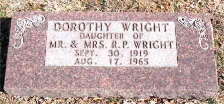 WRIGHT, DOROTHY - Carroll County, Arkansas | DOROTHY WRIGHT - Arkansas Gravestone Photos