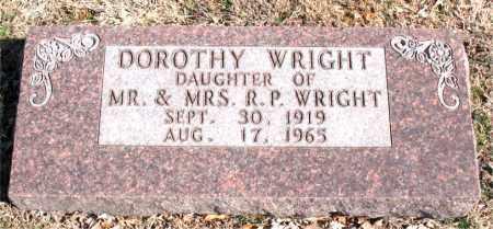 WRIGHT, DOROTHY - Carroll County, Arkansas | DOROTHY WRIGHT - Arkansas Gravestone Photos