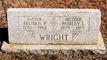 WRIGHT, PAIRLEY  L. - Carroll County, Arkansas | PAIRLEY  L. WRIGHT - Arkansas Gravestone Photos