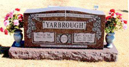 YARBROUGH, REV., COY C. - Carroll County, Arkansas | COY C. YARBROUGH, REV. - Arkansas Gravestone Photos