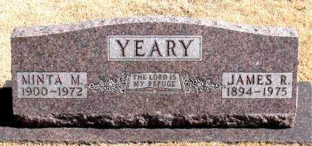 YEARY, JAMES R. - Carroll County, Arkansas | JAMES R. YEARY - Arkansas Gravestone Photos