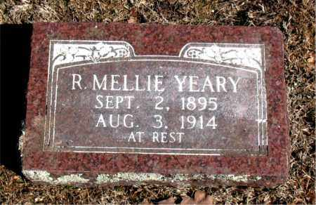 YEARY, R. MELLIE - Carroll County, Arkansas | R. MELLIE YEARY - Arkansas Gravestone Photos