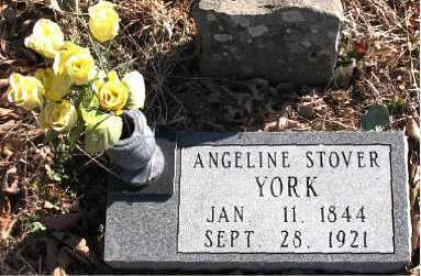 YORK, ANGELINE - Carroll County, Arkansas | ANGELINE YORK - Arkansas Gravestone Photos