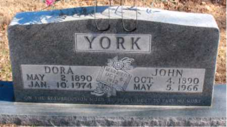YORK, JOHN - Carroll County, Arkansas | JOHN YORK - Arkansas Gravestone Photos
