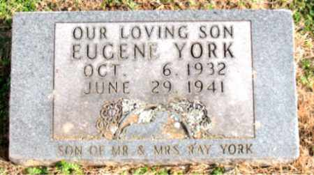 YORK, EUGENE - Carroll County, Arkansas | EUGENE YORK - Arkansas Gravestone Photos