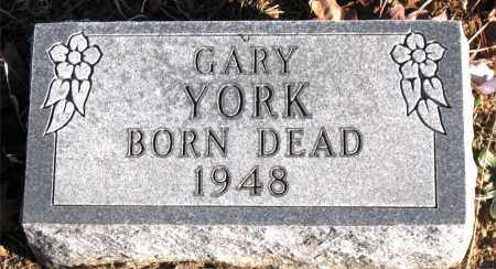 YORK, GARY - Carroll County, Arkansas | GARY YORK - Arkansas Gravestone Photos